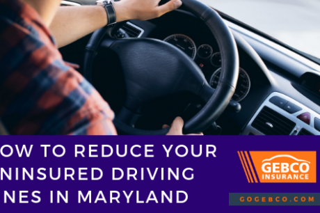 Maryland Drivers, Reduce Your Uninsured Driving Fines